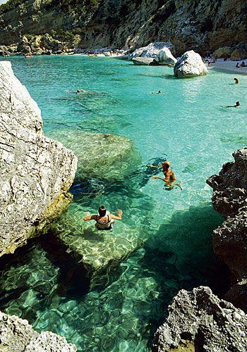 il golfo di orosei, sardegna, Italia! Probably won't ever happen, but if there's a chance.... :)