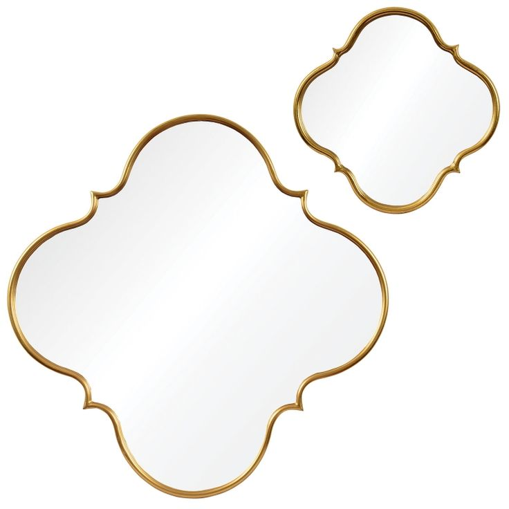 Nephel Mirror - Gold leaf