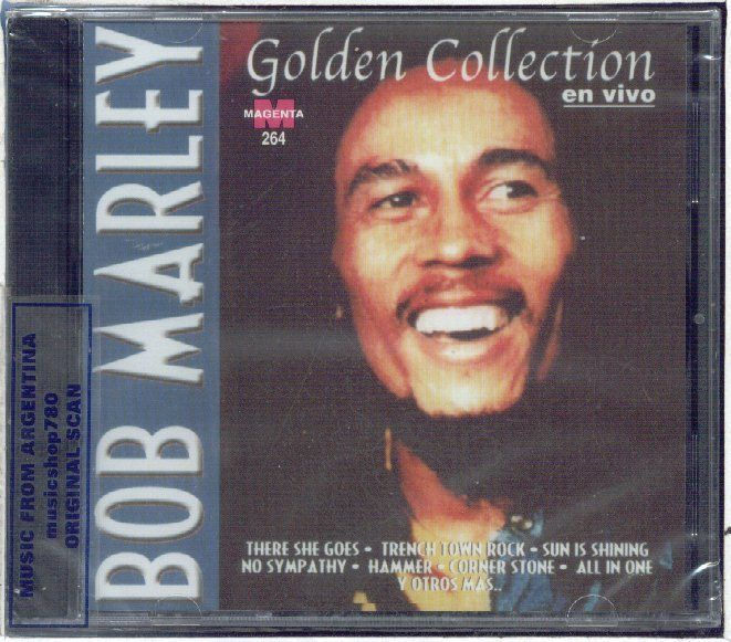 Bob Marley Golden Collection Live Sealed Cd Greatest Hits Best