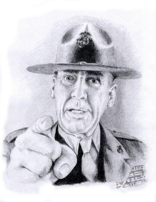 R Lee Ermey Young 17 Best images about R...