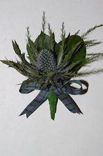 wedding flower thistle - Google Search