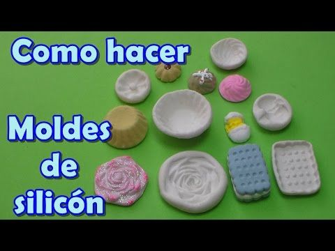 Como hacer moldes flexibles de silicón - YouTube