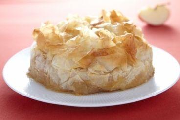 Рецепт пирога жареные яблоки с кальвадос