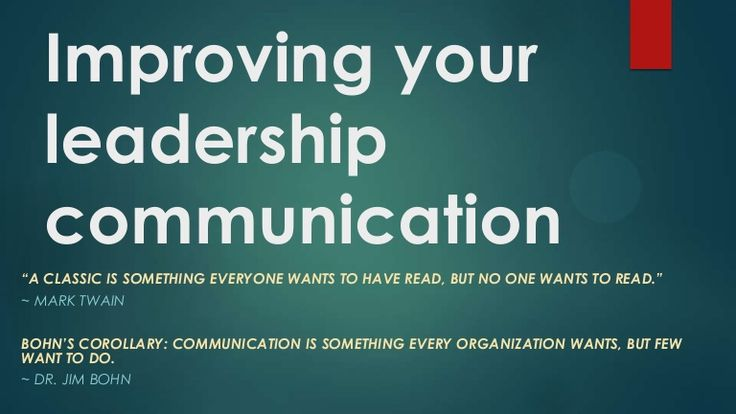 Concepts of Leadership