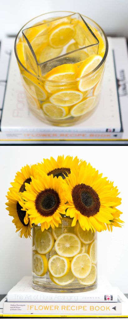 Best citrus centerpieces images on pinterest flower