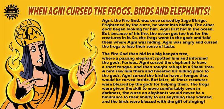 A story from the Anushasana Parva. #Mahabharata #IndianMythology