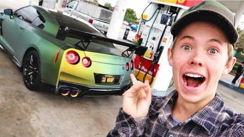 Tanner Fox Revealing The Gtr Project Nissan Gtr