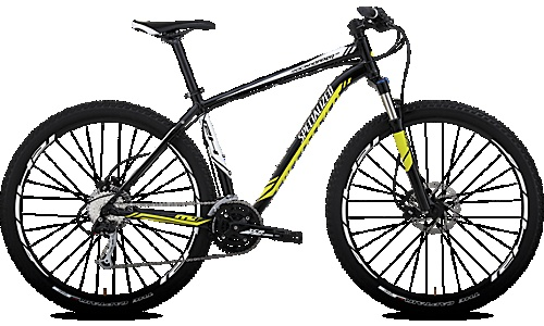 Specialized Rockhopper, my new mountain bike!
