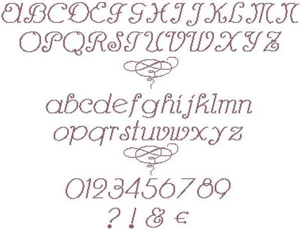 Great cross-stitch fonts