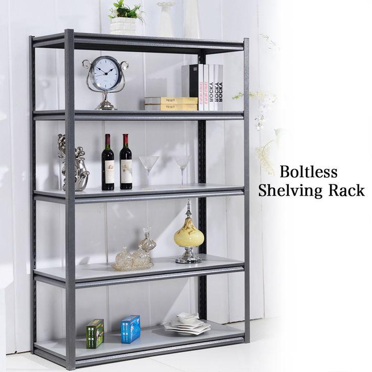 [S$69.95](▼51%)Brand New Boltless Shelving Rack /Storage rack/Storage Box/Storage Cabinet/Storage/Kitchen Shelf organiser/Storage Cabinet/ Singapore seller