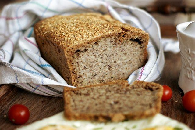 Pełnowartościowy, bezglutenowy chleb z kaszy gryczanej - bez mąki, drożdży…
