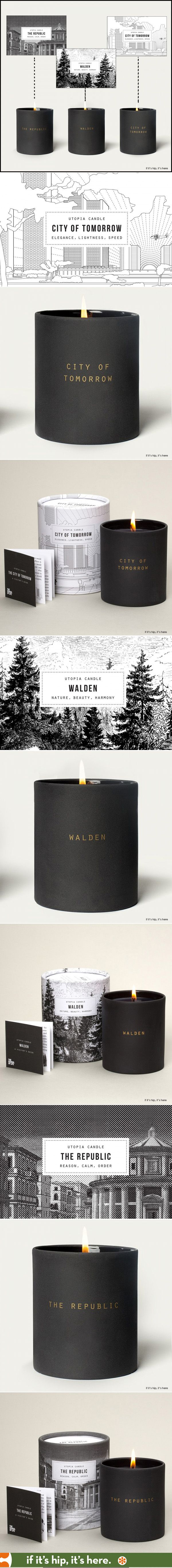 Utopia Candles by School of Life are beautifully packaged and great smelling.