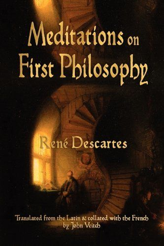 Meditations On First Philosophy by Rene Descartes http://www.amazon.com/dp/1603863915/ref=cm_sw_r_pi_dp_W4Rgvb11D2SSN