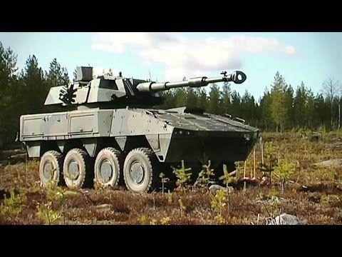 Patria - AMV 8X8 Armoured Modular Vehicle [480p] - YouTube