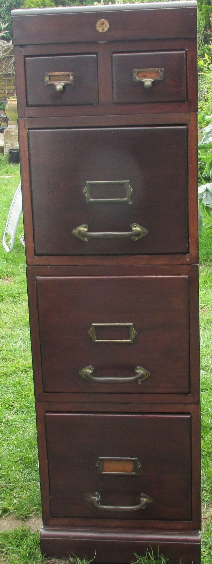 LATE VICTORIAN FILING CABINET