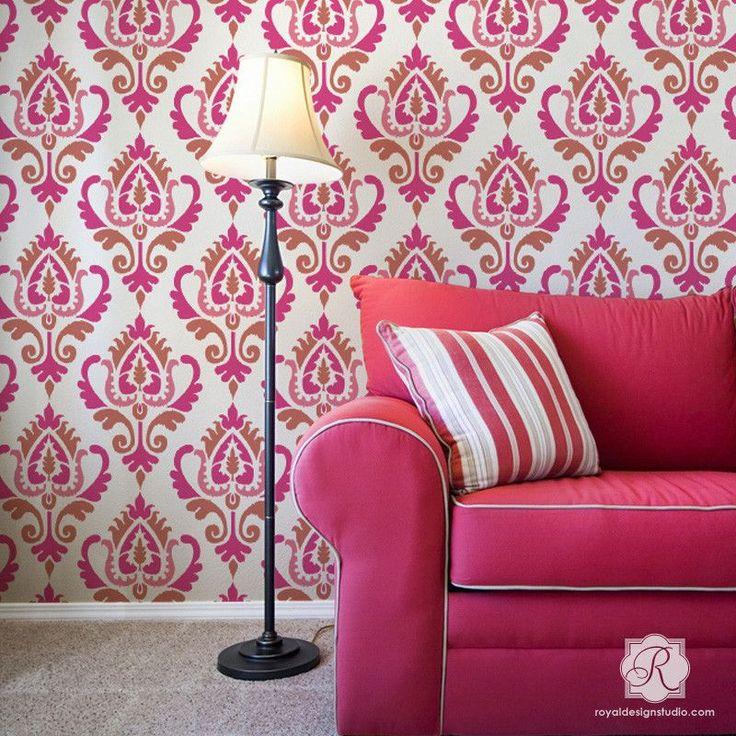 Bedroom Decor Ideas Diy Bedroom Wallpaper For Teenagers Bedroom Color Schemes Pink Colorful Master Bedroom Design Ideas: Murals, Bedroom Paint Colours And Interior Paint