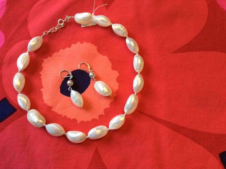 Silver and seashells