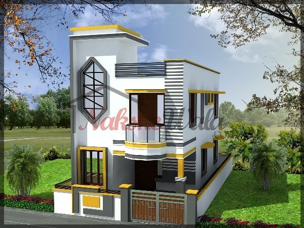 Pin by gopi krishna velpula on house elevation pinterest for Normal house front design