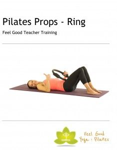 Comprehensive pilates teacher training manual covering the magic circle exercises
