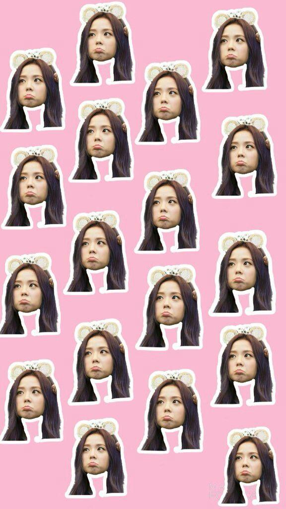 Blackpink Face Meme Jennie Lisa Rose Jisoo K Pop Wallpaper