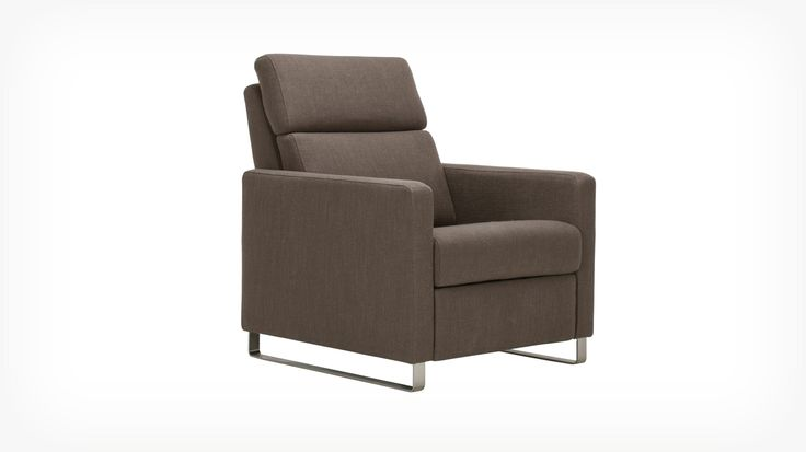 Fauteuil inclinable Lawrence - tissu   EQ3 Modern Furniture