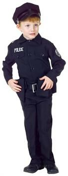 CostumePub.com - Unisex Police Uniform Child Costume