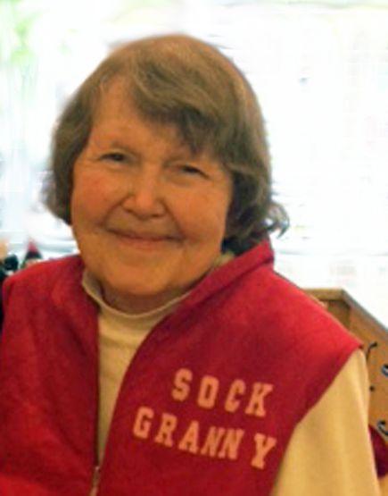"The Sock Granny ""Everyone deserves warm feet."" #sockgranny #givesocks #vancouver"