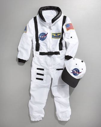 This Aeromax Astronaut Costume will make for a great holiday gift. Find it at Neiman Marcus | Visit The Gift of Tiny Travelers board for your chance to win a Visa gift card
