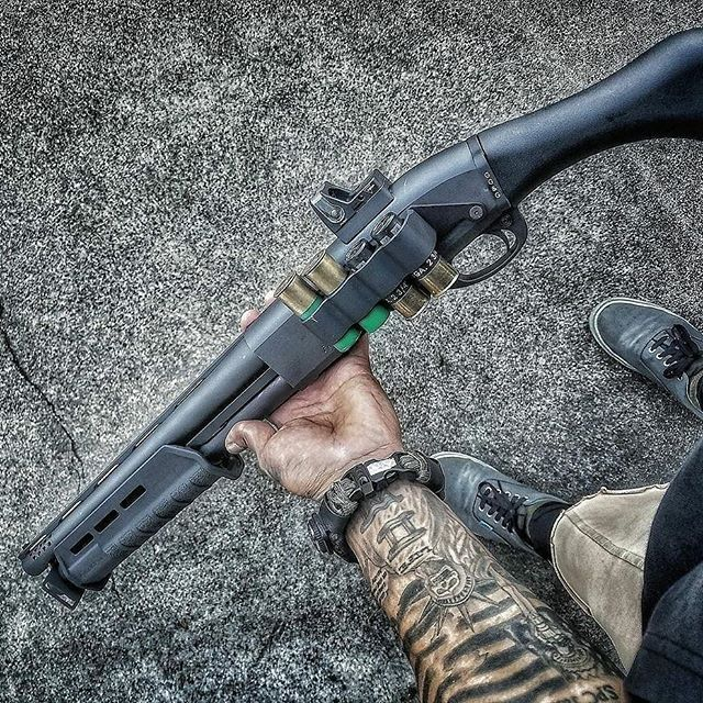@4everagainstthestream wearing his strap going on 3 years now. Quality that lasts in all straps. ・・・ Isis be good stick! All mods, including drilling and tapping the reciever for the rmr were done by @poly_gun_mods.#combatveteran #combatmedic #free #donttreadonme #remington870 #tac14 #ported #sidesaddle #plusonetubeextension #trijiconrmr #greendot #superessestraps #livefreeordie #guns #2ndamendment #pewpew #pewpewlife #carryeveryday #protectyourself #imagunnut #comeandtakeit