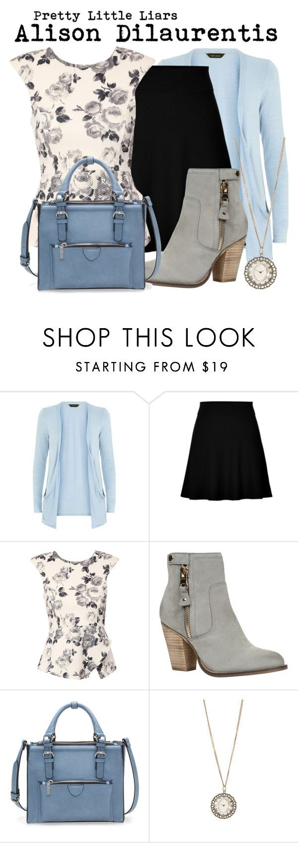 """""""Pretty Little Liars- Alison Dilaurentis"""" by darcy-watson ❤ liked on Polyvore featuring Theory, Jane Norman, ALDO, Zara and Aéropostale"""