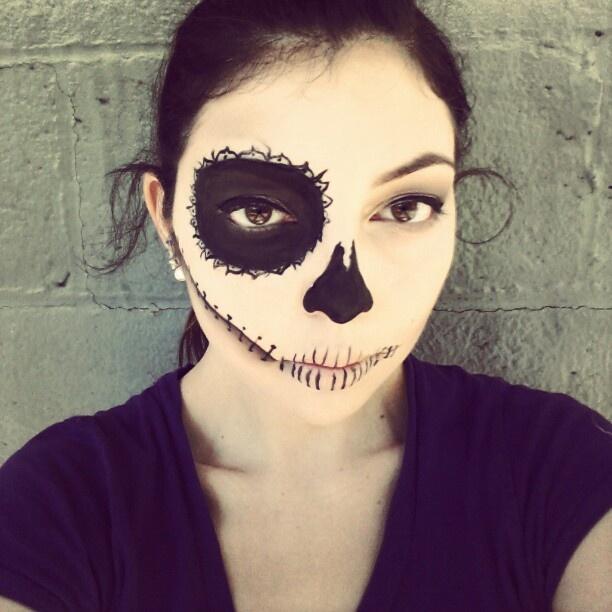 my Halloween sugar skull makeup.   Kids   Pinterest