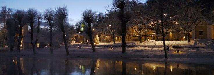Fiskars Village riverbank