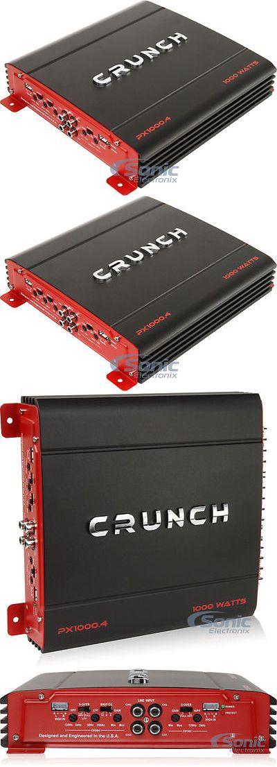 Car Amplifiers: Crunch Px1000.4 1000W 4-Channel Powerx Series Class Ab Car Amplifier -> BUY IT NOW ONLY: $59.99 on eBay!
