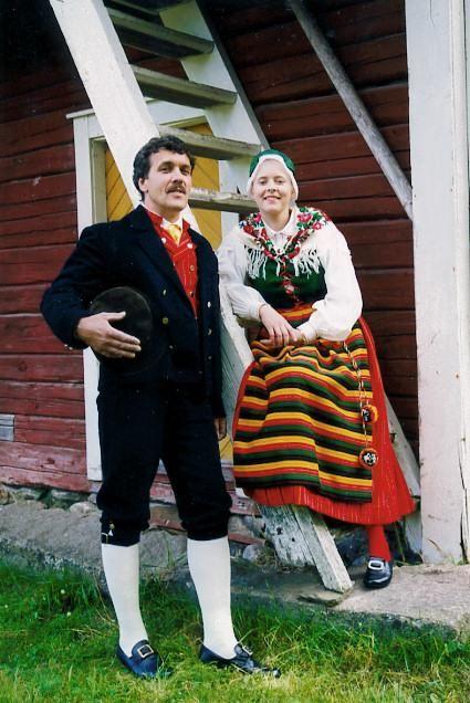Terjärv Terjärv, Österbotten Folkdräkter - Dräktbyrå - Brage