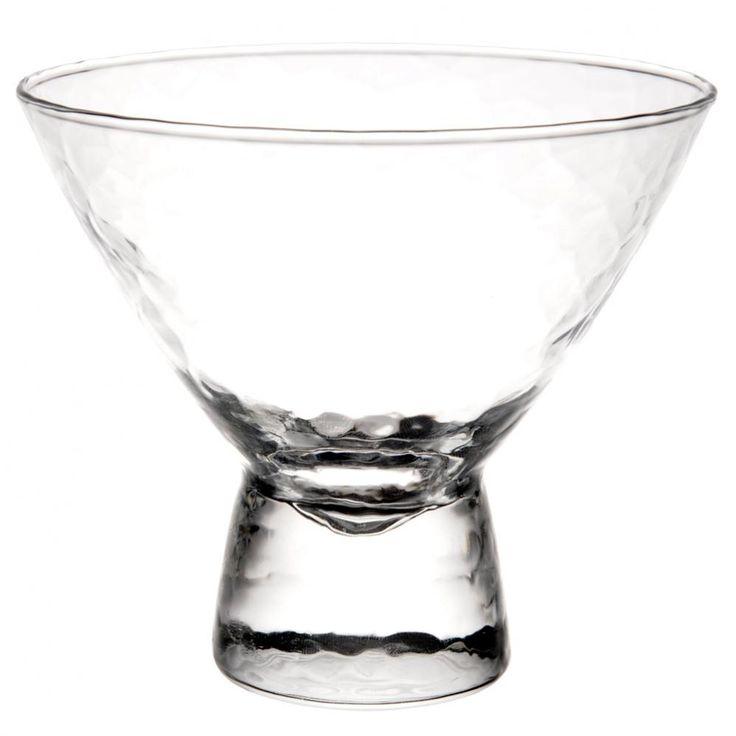 Coupe à glace en verre HELSINKI   - Vendu par 6