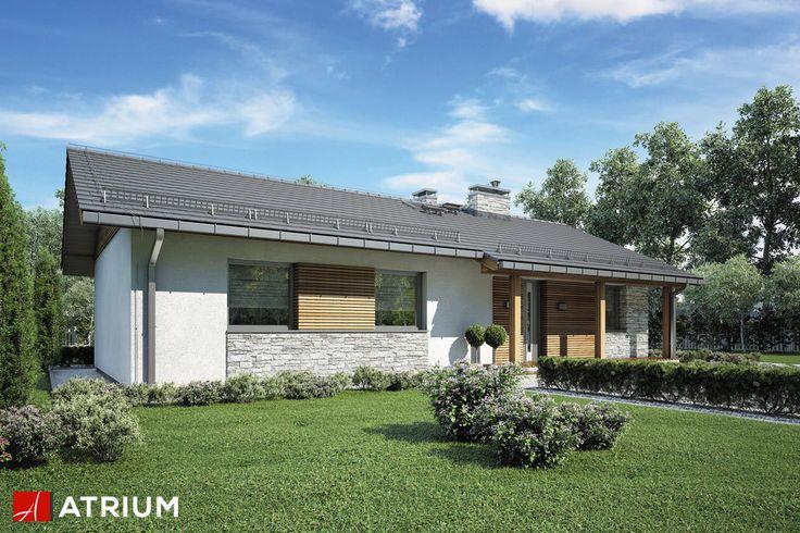 Projekt Alberto - elewacja domu