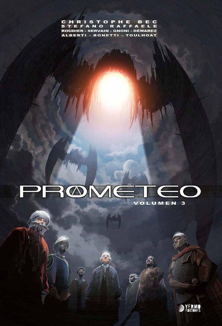 PROMETEO VOLUMEN 3 [CARTONE]   BEC, CHRISTOPHE / RAFFAELE, STEFANO   Akira Comics - libreria donde comprar comics, juegos y libros online