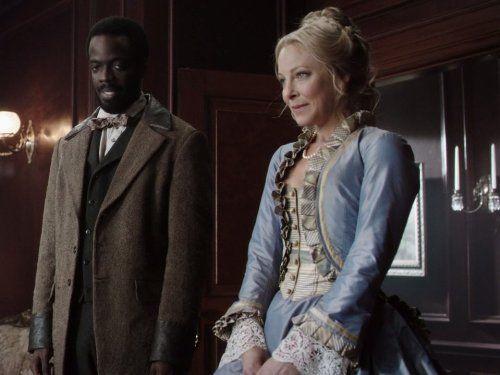 Ato Essandoh and Anastasia Griffith in Copper (2012)