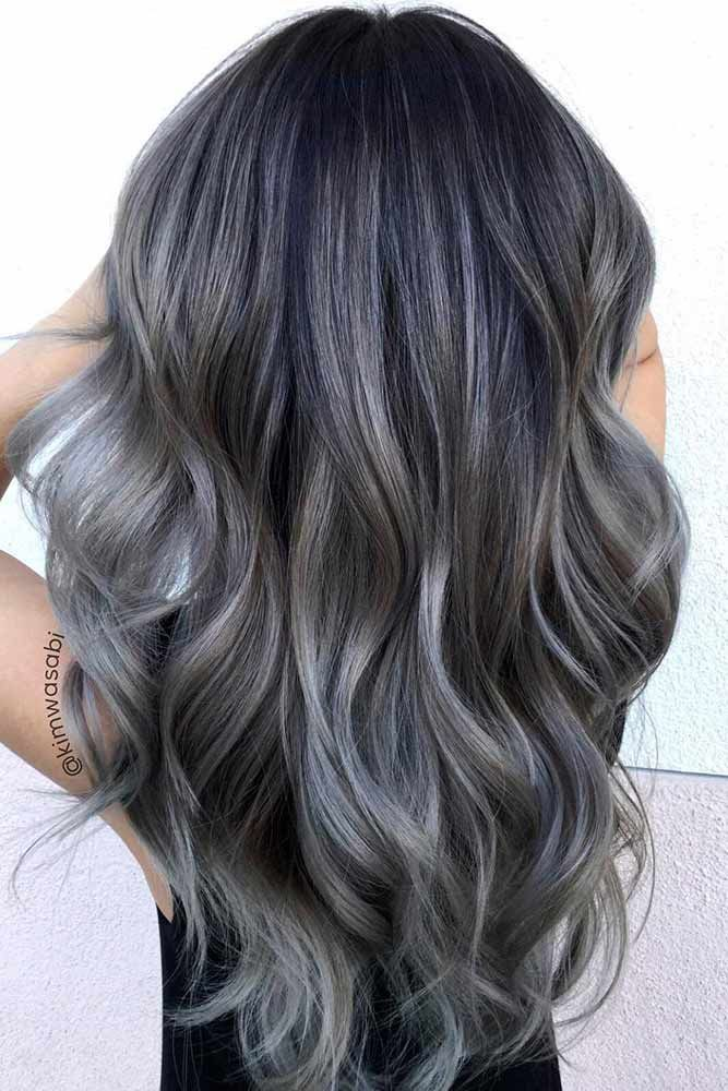 Gray Hair Styles Impressive 205 Best Hair Images On Pinterest  Hairdos Medium Hair And Medium