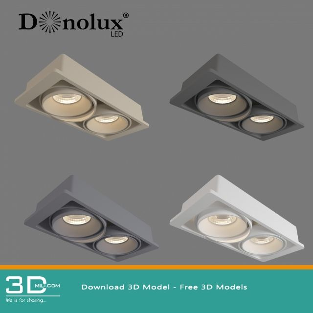 03  Spot lights 3D model free download | 3D objects | Model, 3d