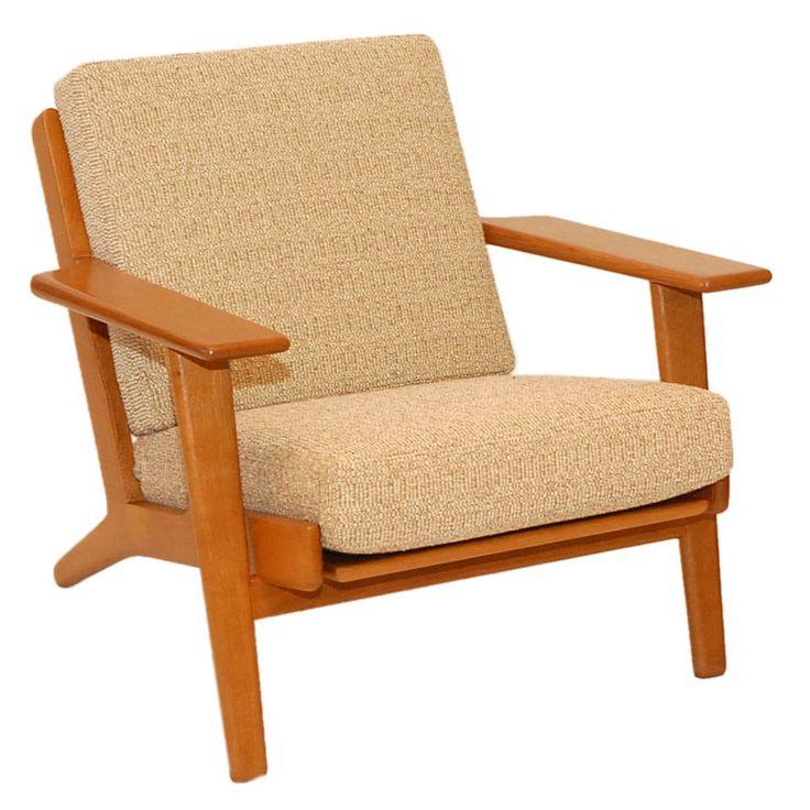 Hans Wegner GE-290 easy chair