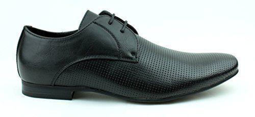 Herren Formelle Schuhe Oxford Schnürer Freizeit Intelligente Büroarbeit - Schwarz, EU 40 - http://on-line-kaufen.de/jas-6/40-eu-herren-formelle-schuhe-oxford-schnuerer-2