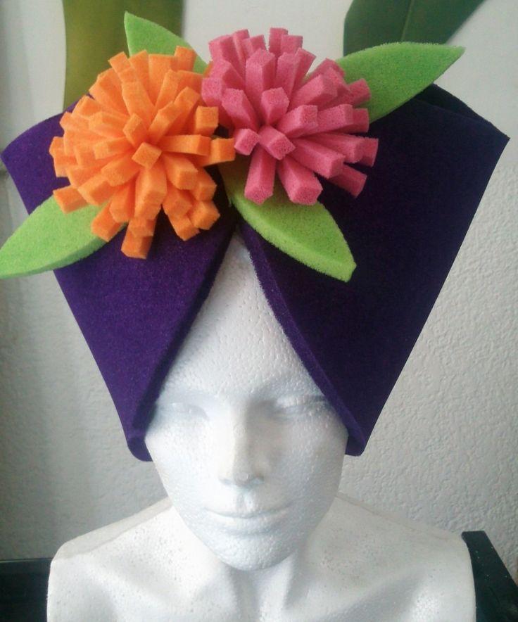 Sombreros De Hule Espuma Para Fiestas, Bodas - $ 40.00 en MercadoLibre