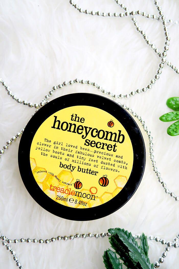 Treaclemoon body butter The Honeycomb secret