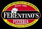 Ferentino's Pizzeria 842 N. Western Avenue Lake Forest, IL 60045 (847) 295-8888  www.ferentinospizza.com