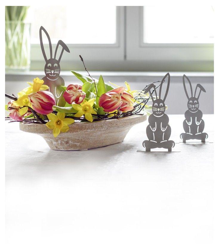 #Deko-Set #Osterhasen #Ostern #Easter #Hasen #Tischdeko # ...