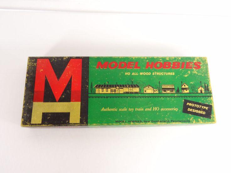 Model Hobbies HO Scale All Wood Ranch House with Carport Kit # 561 New #ModelHobbies