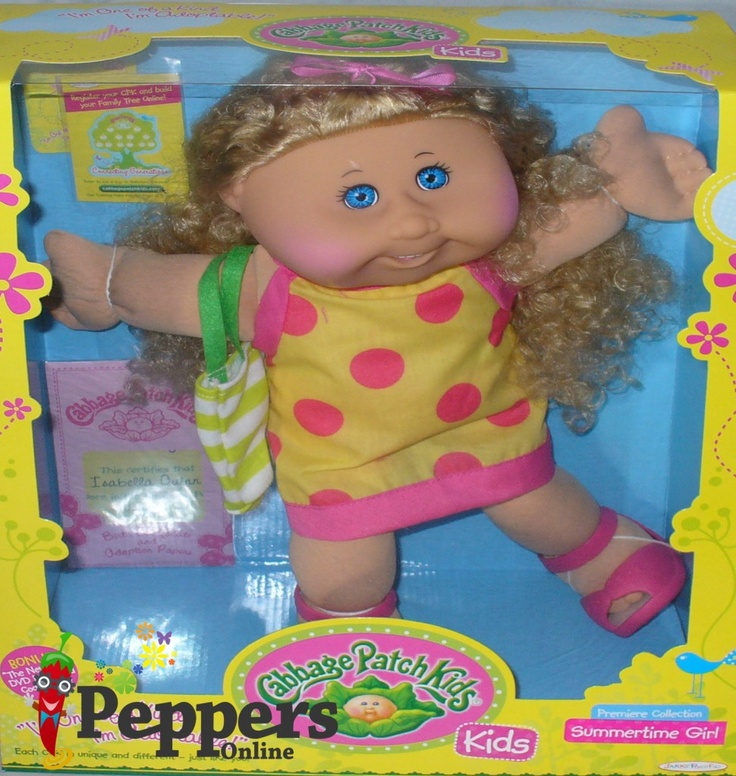 31 Best Cabbage Patch Kids Images On Pinterest Cabbage