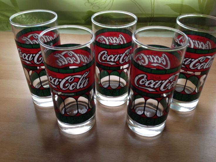 5 Cola Gläser Rarität 80er Jahre | eBay