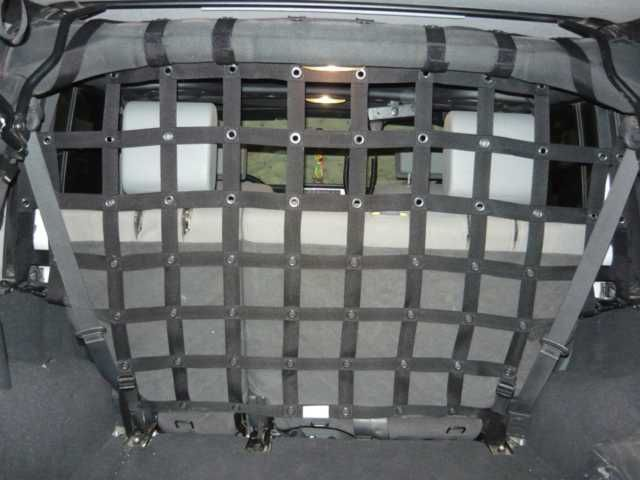Cargo/Pet divider - for Jeep JK unlimited (full divider)
